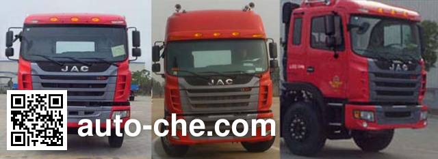 JAC HFC5311GFLP1K6H45F low-density bulk powder transport tank truck