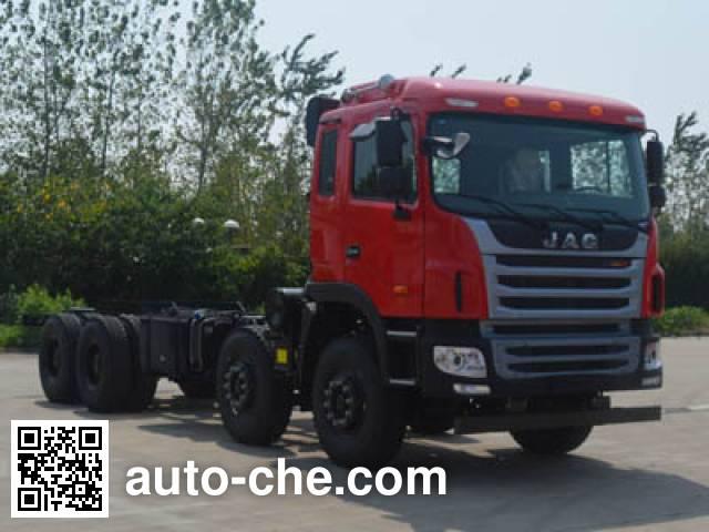 JAC HFC5311GJBP1K6H35S3V concrete mixer truck chassis