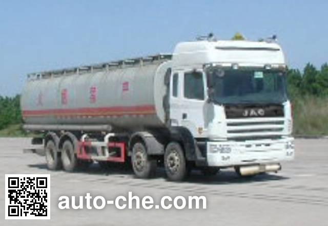 JAC HFC5313GHYK1R1 chemical liquid tank truck
