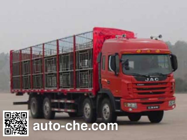 江淮牌HFC5314CCQKR1ET畜禽运输车