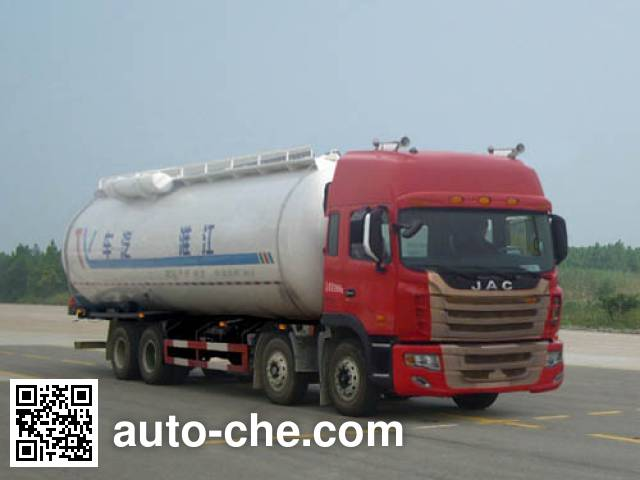JAC HFC5314GFLK2R1T low-density bulk powder transport tank truck