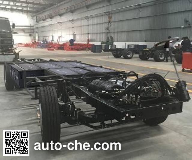 JAC HFC6685EV electric bus chassis