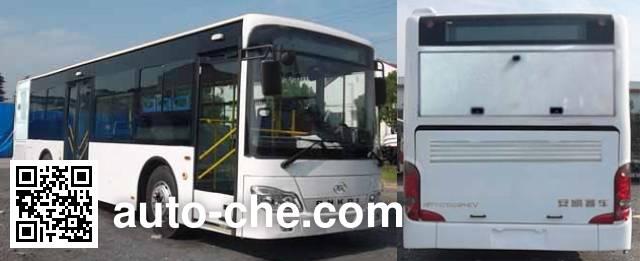 安凯牌HFF6105G03PHEV混合动力城市客车