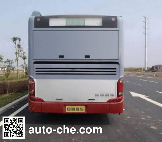 安凯牌HFF6115G03PHEV混合动力城市客车