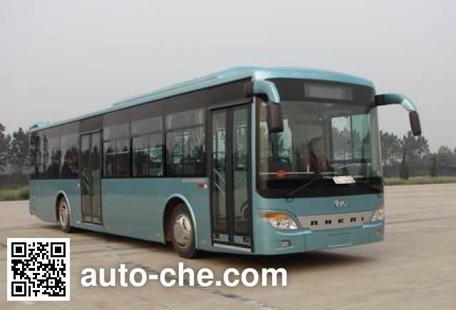 安凯牌HFF6121G03PHEV混合动力城市客车