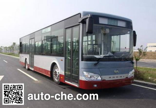 安凯牌HFF6122G03PHEV混合动力城市客车