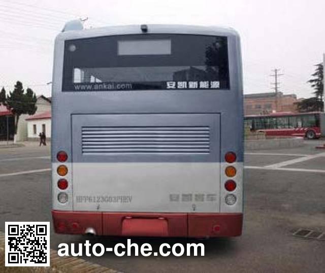 安凯牌HFF6123G03PHEV混合动力城市客车