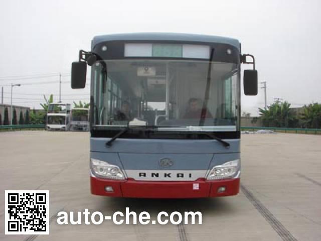 安凯牌HFF6123G03SHEV混合动力城市客车