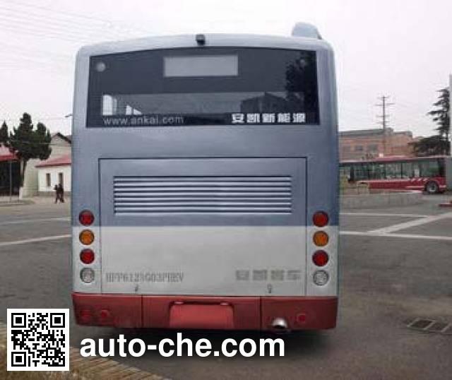 安凯牌HFF6124G03SHEV混合动力城市客车