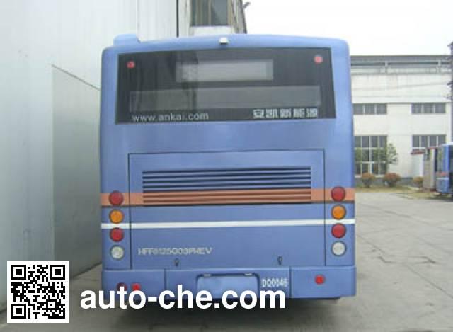 安凯牌HFF6125G03PHEV混合动力城市客车