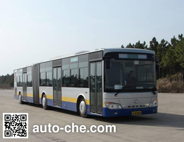 安凯牌HFF6180G02CE5铰接城市客车