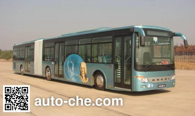 安凯牌HFF6181G02D铰接城市客车