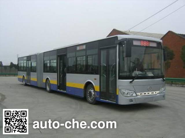 安凯牌HFF6182G02D铰接城市客车