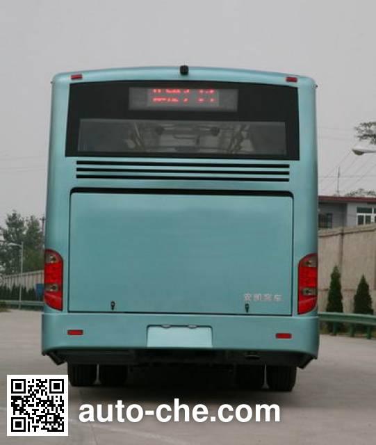 安凯牌HFF6183G02D铰接城市客车