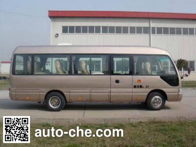 安凯牌HFF6705BEV纯电动客车