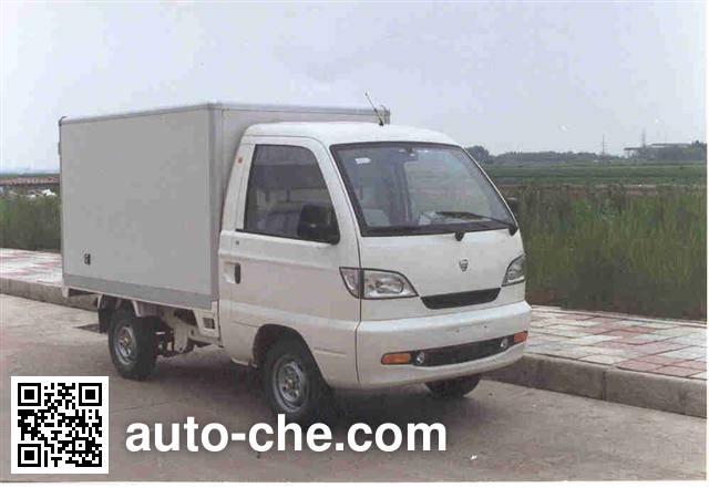 Hafei Songhuajiang HFJ5012XBW insulated box van truck