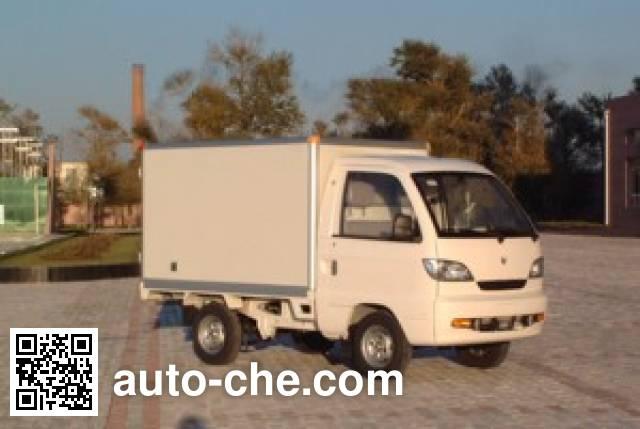 Hafei Songhuajiang HFJ5012XBWE insulated box van truck