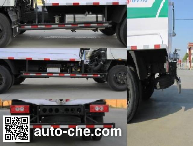 Foton Auman HFV5060GZXBJ biogas digester sewage suction truck