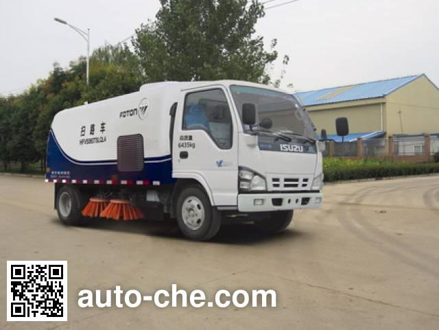Foton Auman HFV5060TSLQL4 street sweeper truck