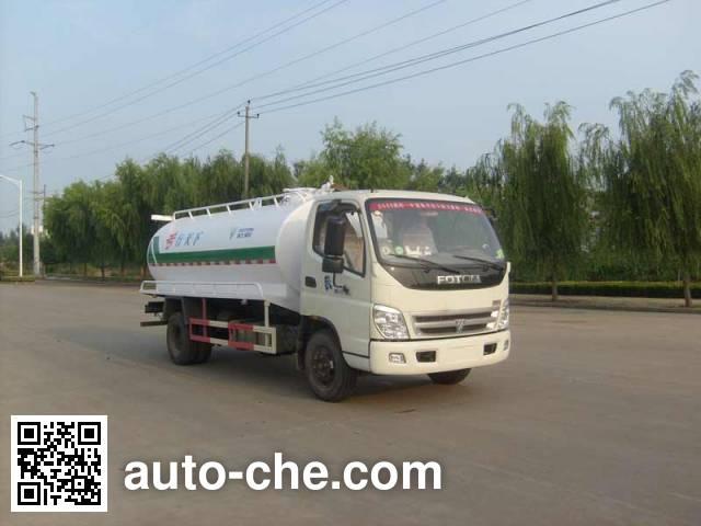 Foton Auman HFV5101GXWBJ rural biogas digesters sewage suction truck