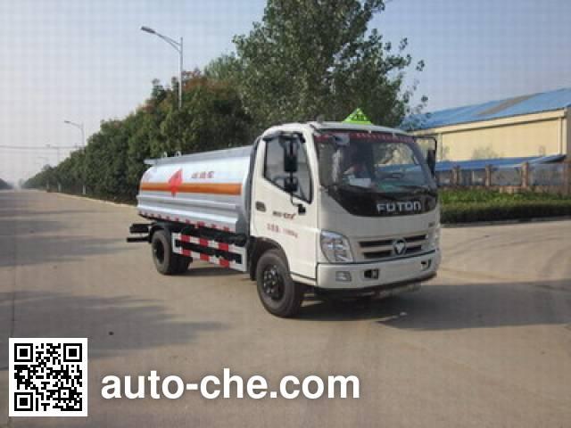 Foton Auman HFV5120GYYBJ4 oil tank truck