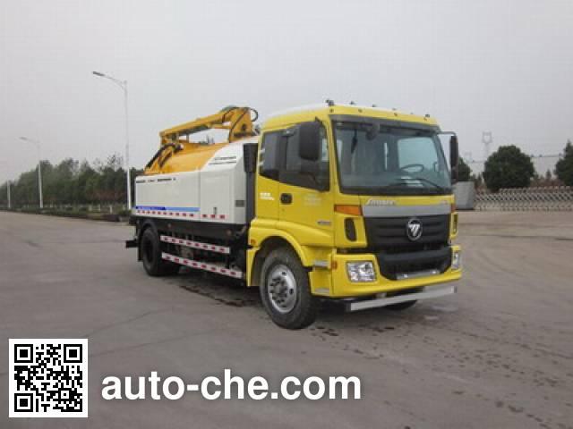 Foton Auman HFV5161GQXBJ4 sewer flusher truck