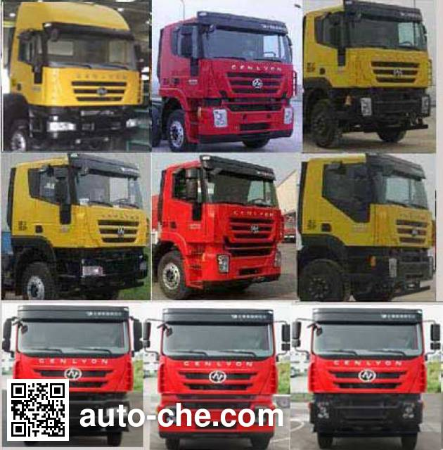 Foton Auman HFV5310GXHCQ4 pneumatic discharging bulk cement truck