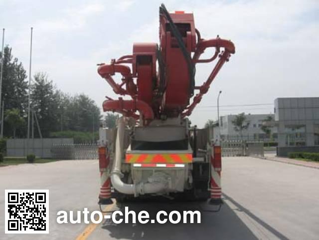 欧曼牌HFV5390THB混凝土泵车
