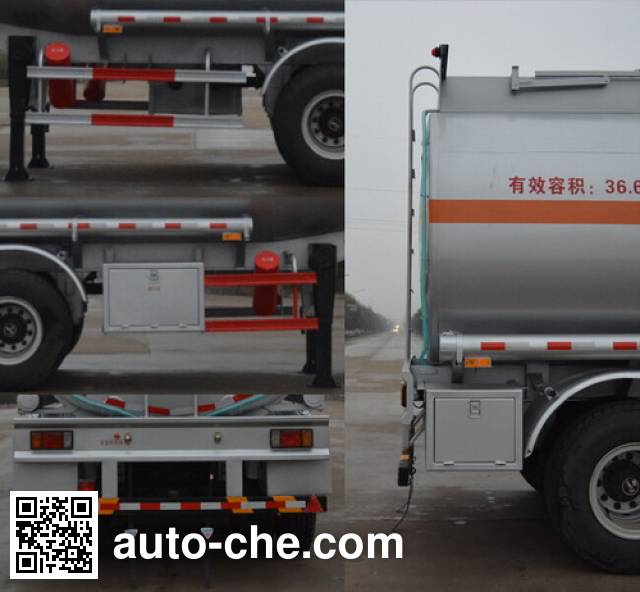 Foton Auman HFV9400GRY flammable liquid tank trailer