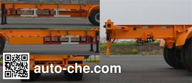 Foton Auman HFV9400TJZ container transport trailer