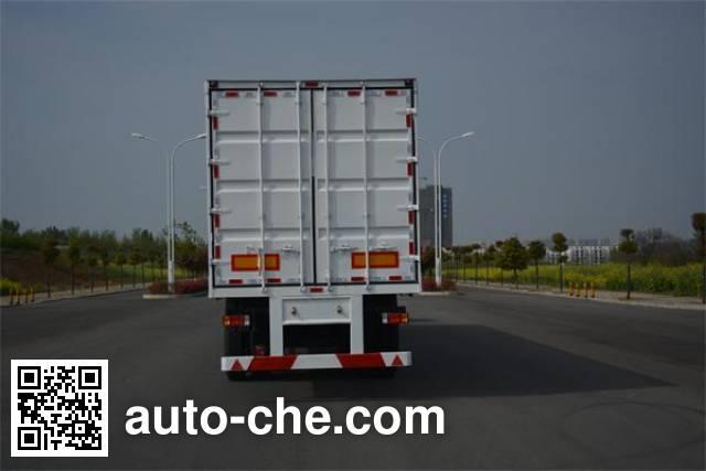 Foton Auman HFV9400XXY box body van trailer