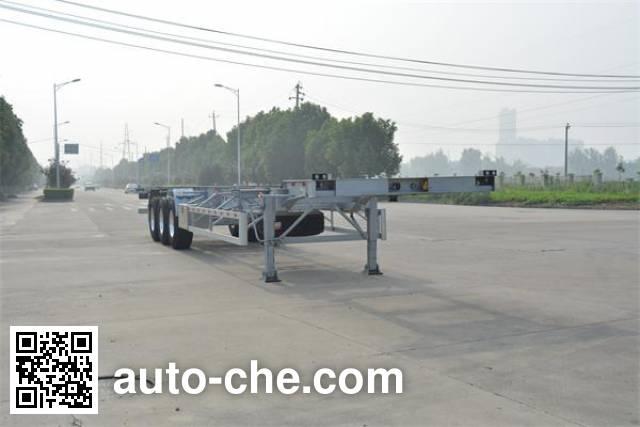 Foton Auman HFV9401TJZ container transport trailer