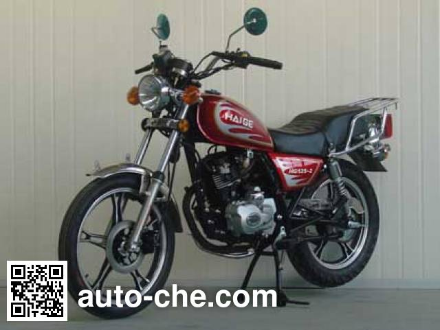 Haige HG125-2 motorcycle