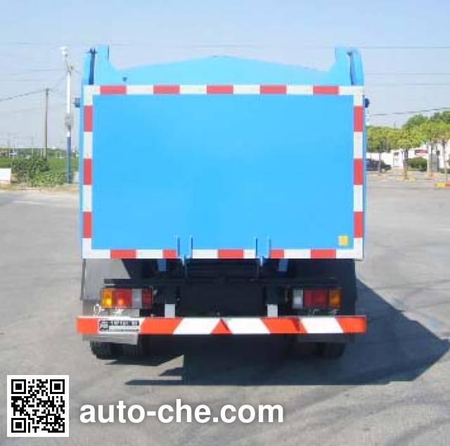 Huguang HG5072ZLJ dump garbage truck