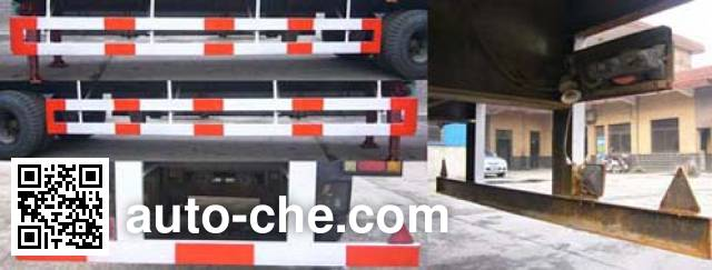 Huguang HG9152XXY box body van trailer