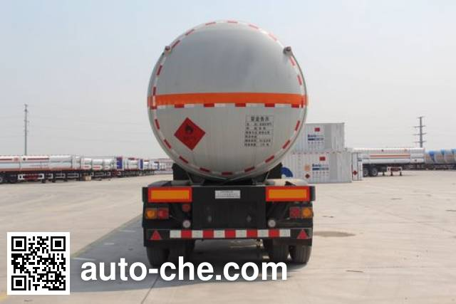 安瑞科牌HGJ9300GZQ永久气体运输半挂车