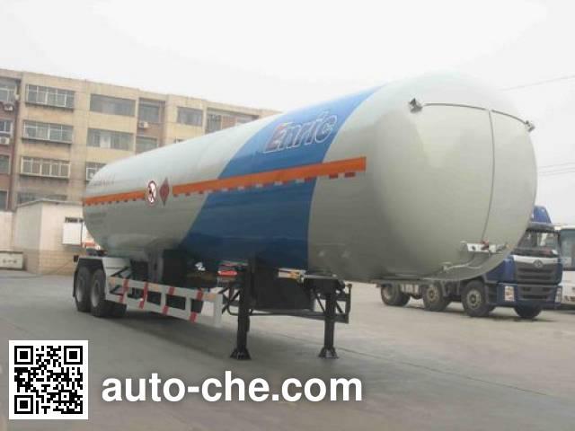 安瑞科(Enric)牌HGJ9300GZQ永久气体运输半挂车