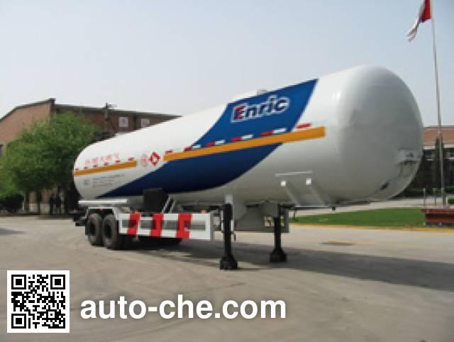 Enric(安瑞科)牌HGJ9340GZQ永久气体运输半挂车