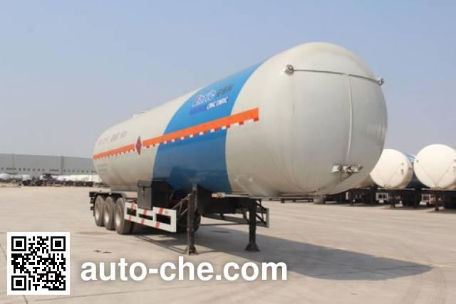 Enric HGJ9380GRQ flammable gas tank trailer