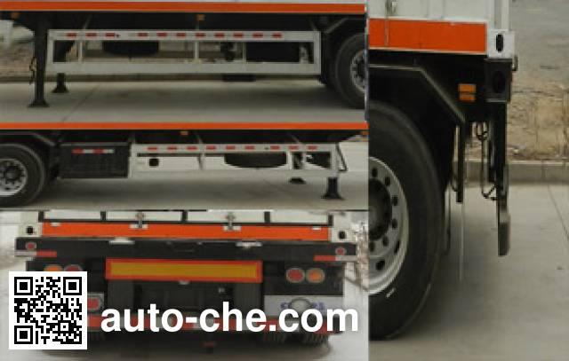 Enric HGJ9390GRQ flammable gas tank trailer
