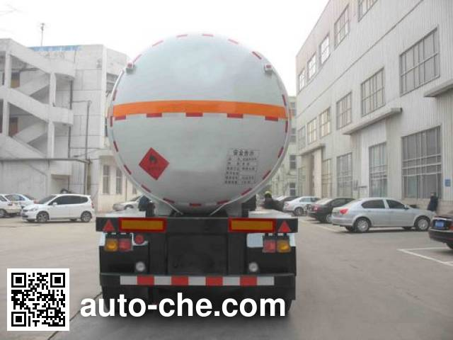 Enric HGJ9400GRQ flammable gas tank trailer