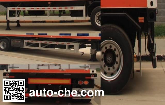 Enric HGJ9401GRQ flammable gas tank trailer