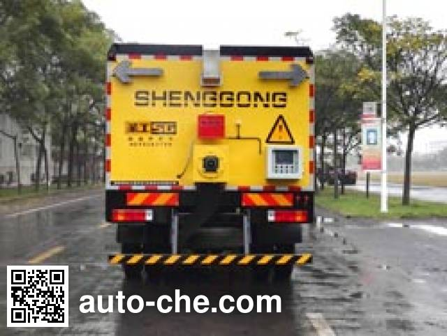 Gaoyuan Shenggong HGY5163TYH pavement maintenance truck