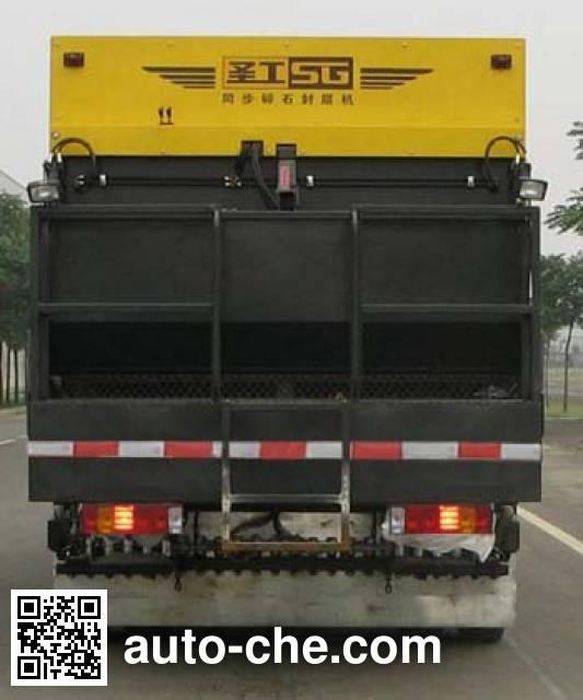 Gaoyuan Shenggong HGY5251TLS synchronous chip sealer truck