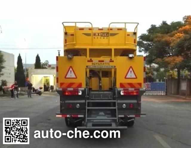 Gaoyuan Shenggong HGY5254TFC slurry seal coating truck