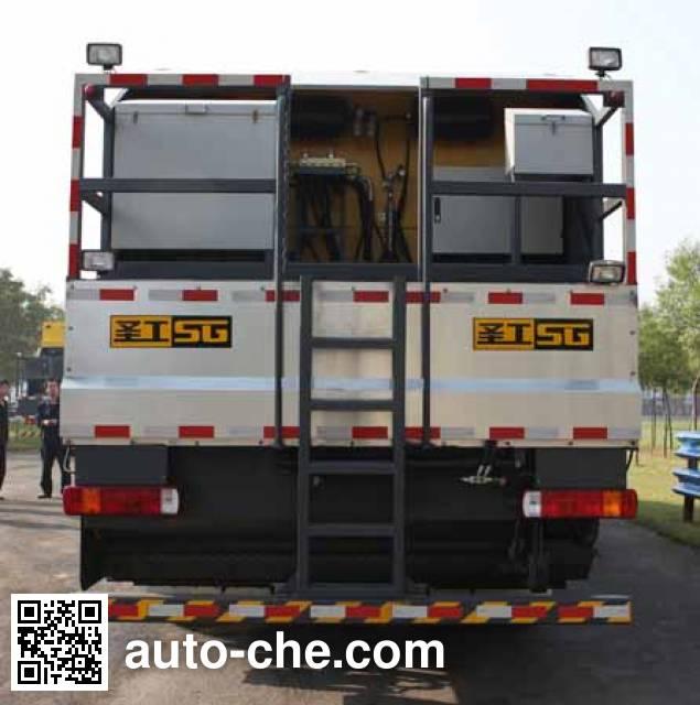 Gaoyuan Shenggong HGY5310TFC synchronous chip sealer truck