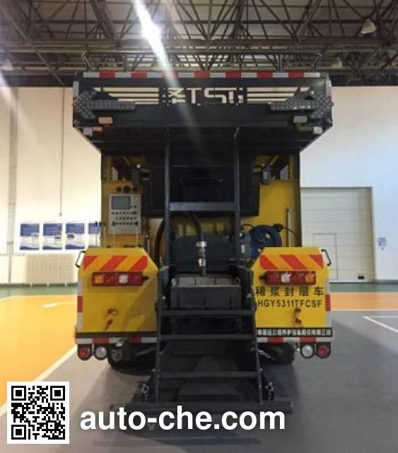 Gaoyuan Shenggong HGY5311TFCSF slurry seal coating truck
