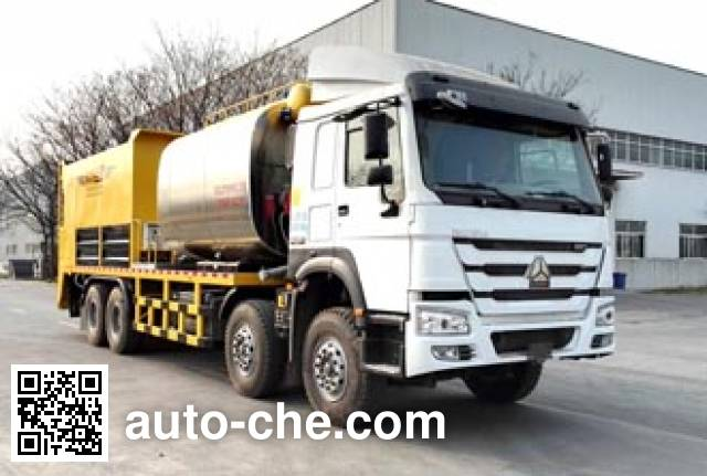Gaoyuan Shenggong HGY5317TFC synchronous chip sealer truck