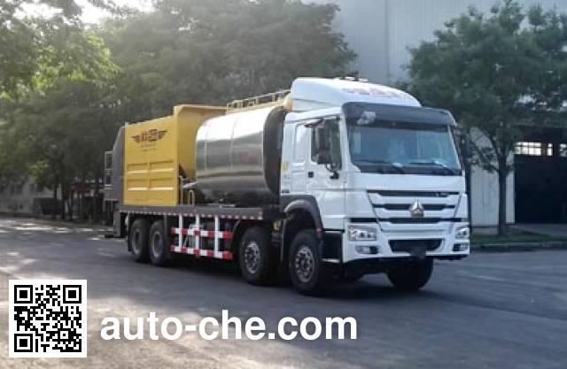 Gaoyuan Shenggong HGY5318TFC synchronous chip sealer truck