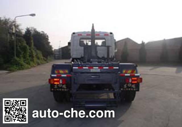 Shihuan HHJ5141ZXX detachable body garbage truck
